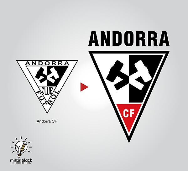 Andorra CF - Badge redesign