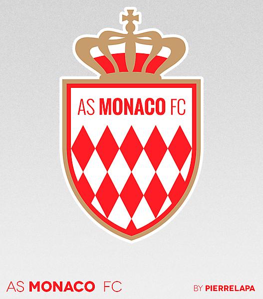 AS Monaco FC - crest redesign