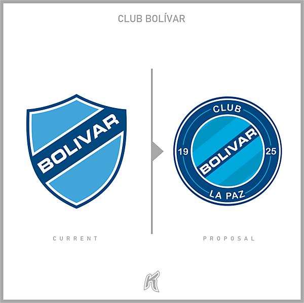 Bolívar Logo Redesign