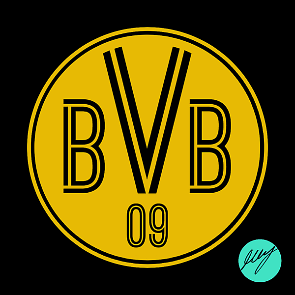 Borussia Dortmund Crest Redesign II