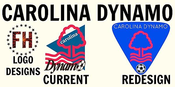 Carolina Dynamo FC New Crest Idea
