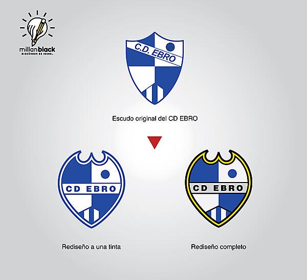 CD Ebro - badge redesign