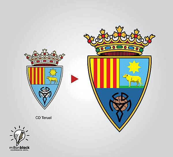 CD Teruel - Badge redesign