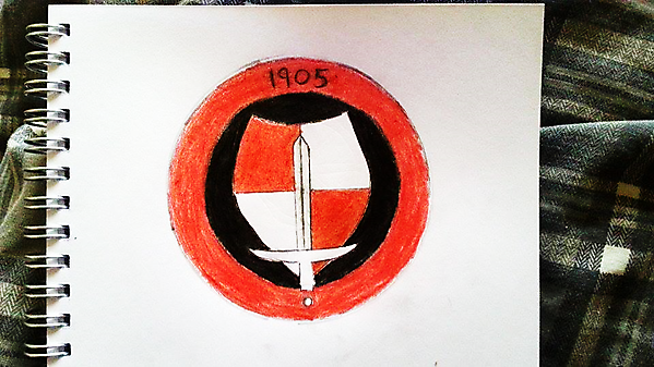 Charlton Athletic (Drawing Design Idea 1)