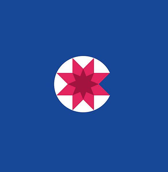 Chile crest logo concept.
