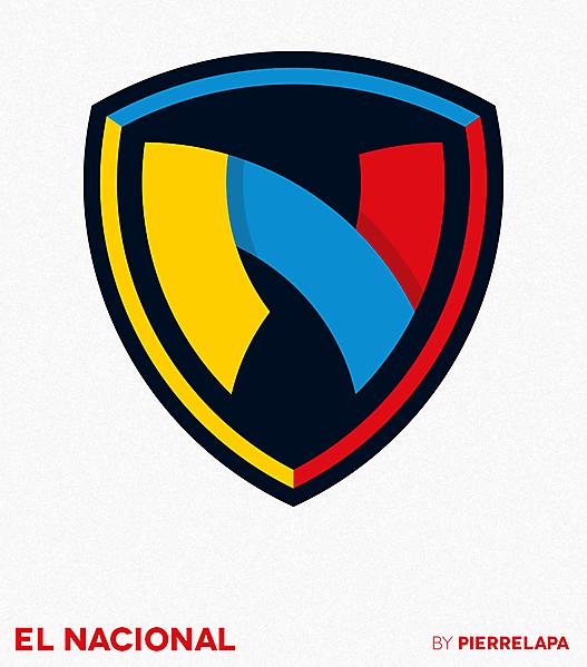 Club Deportivo El Nacional - Ecuador - redesign