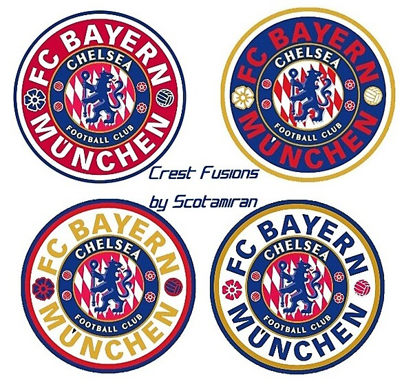 Crest Fusions - Bayern & Chelsea