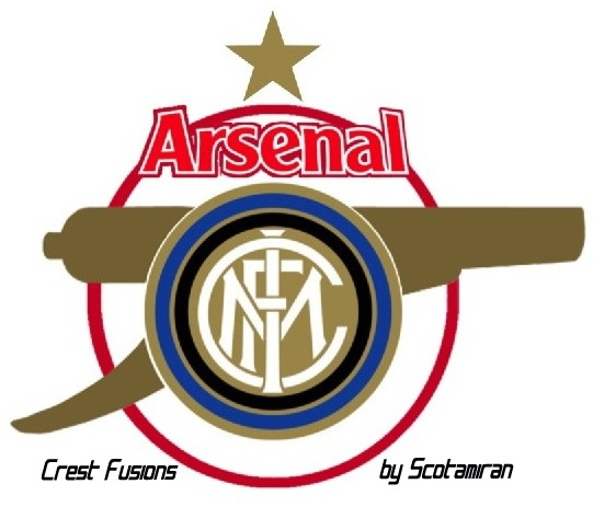 Crest Fusions - Inter & Arsenal