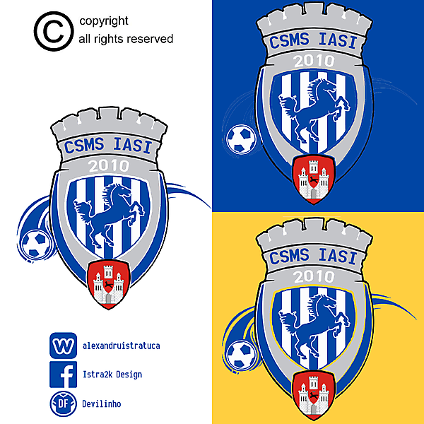 CSMS Iasi - The Blue and Whites