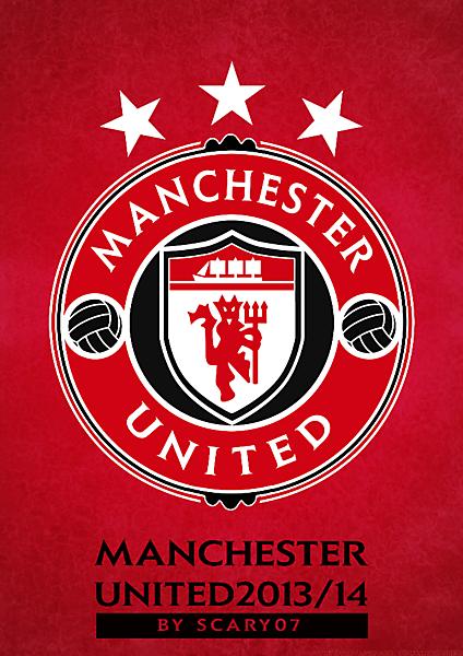 Nuevo Escudo Manchester United 2013