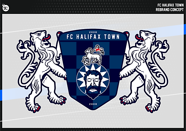 FC Halifax Town Crest Version 2