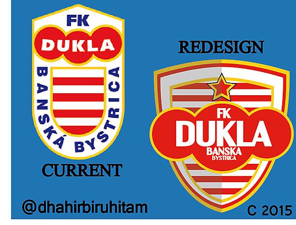 FK Dukla Banska Bystrica Redesign Logo Crest