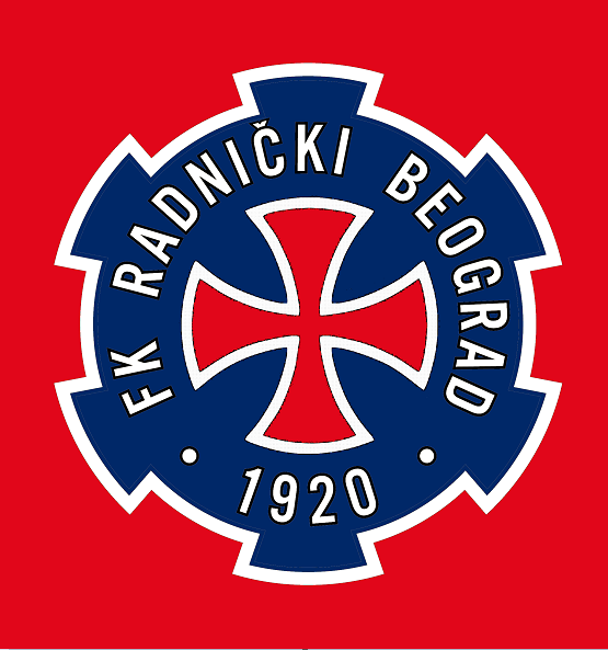 FK Radnički Beograd (nickname Crusades) redesign