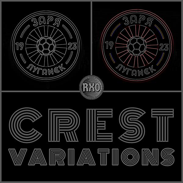 fk zorya luhansk Crest Variationss