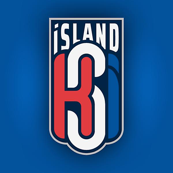 Iceland Crest Redesign (Alternate version)