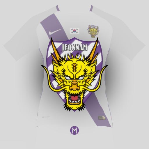 Jeonnam Dragons crest design