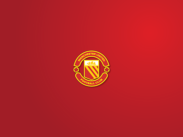 Man Utd 70' logo redesign