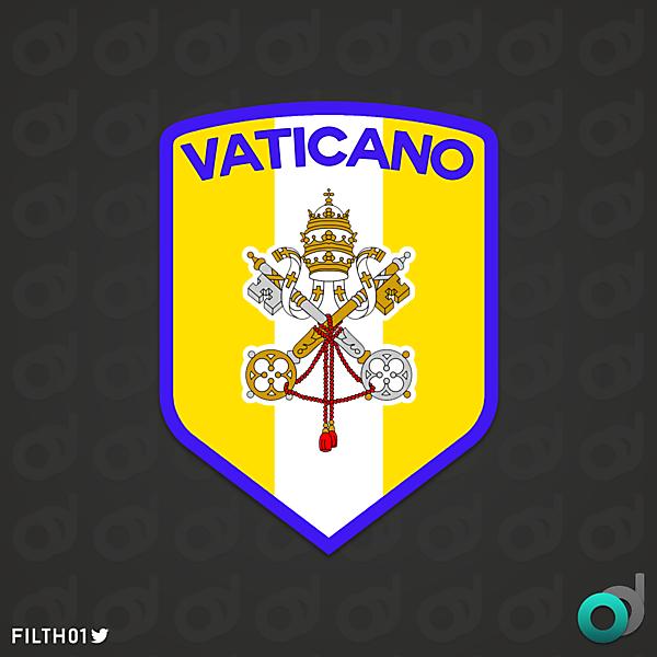 Nazionale di calcio del Vaticano   Crest