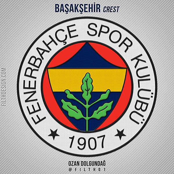 New Nike Style Fenerbahçe Crest