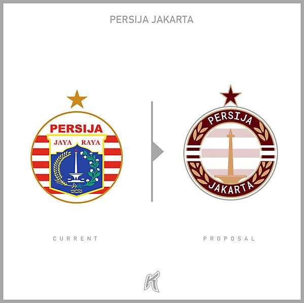 Persija Jakarta Logo Redesign