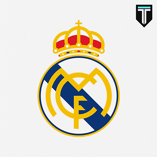 Real Madrid Crest Redesign