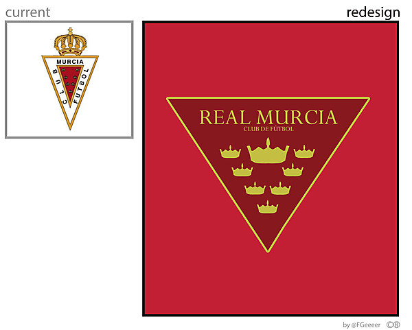 REAL MURCIA new crest