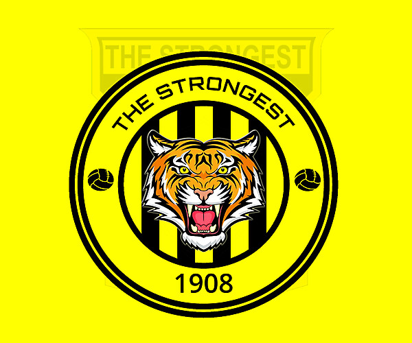 REBRAND CLUB THE STRONGEST 2021