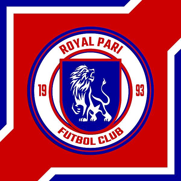 REBRAND  ROYAL PARI FC 2021