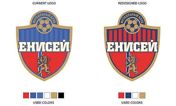 Recolored FC Yenisey Krasnoyarsk logo