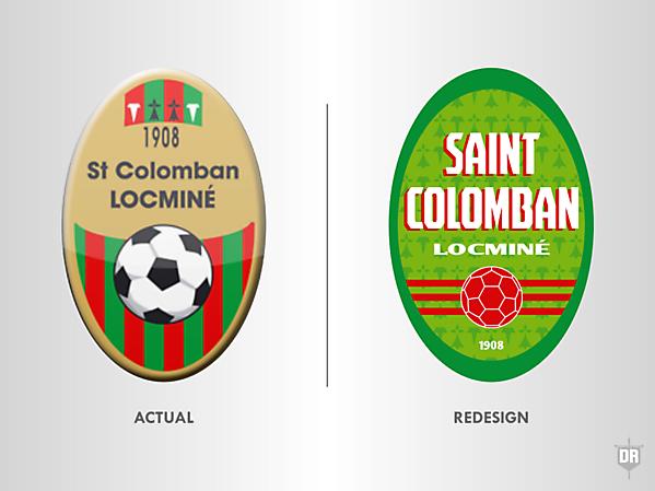 Saint-Colomban Sportive Locminé Crest Redesign
