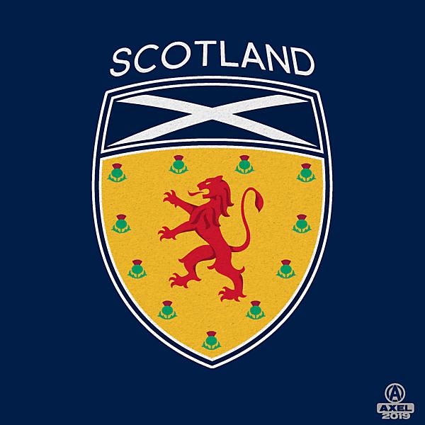 SCOTTISH FA - crest redesign A