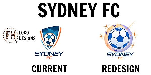Sydney FC Logo Redesign