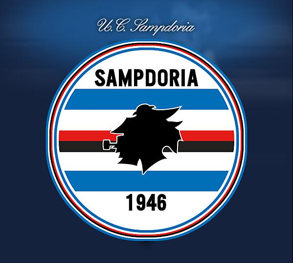 U.C. Sampdoria revisited crest