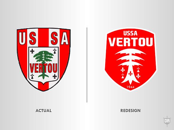 USSA Vertou Crest Redesign