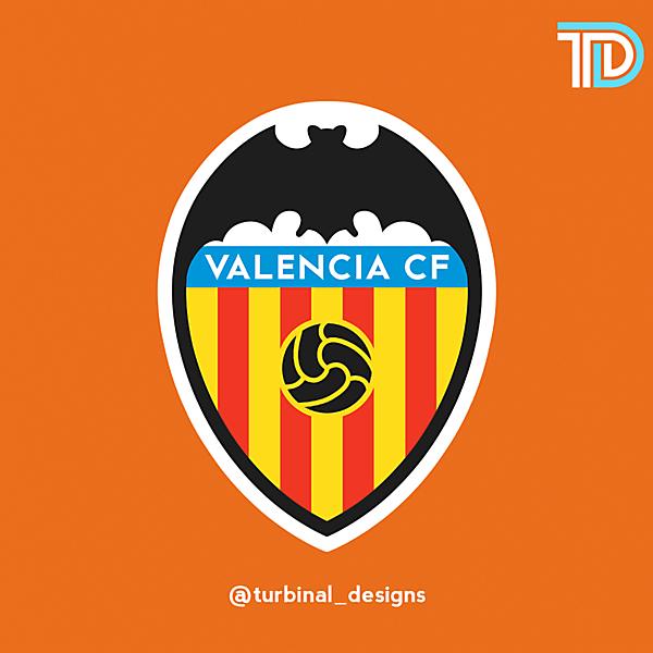 Valencia CF Crest Redesign