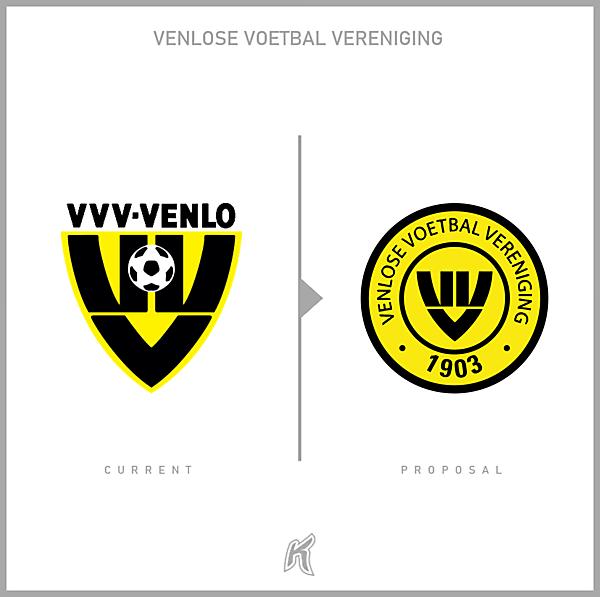 VVV-Venlo Logo Redesign