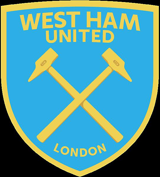 West Ham United Boys of 86 modern crest