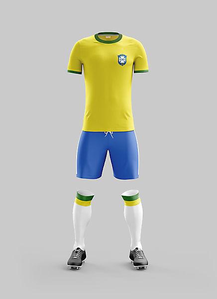 #16 - Brazil Home '70