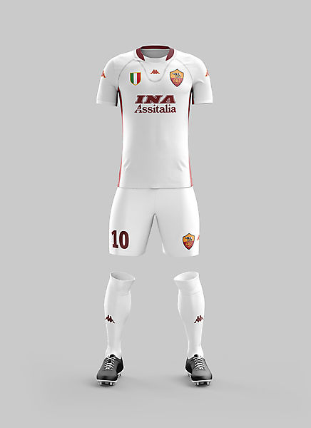 #19 - Roma Away '01