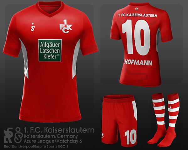 1. FC Kaiserslautern - Azure League Matchday 6