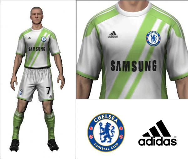 2014/15 Chelsea Away Kit