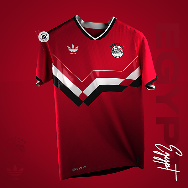90s | Egypt classic football Shirt