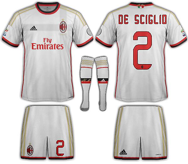 AC Milan Fantasy away 2013-14