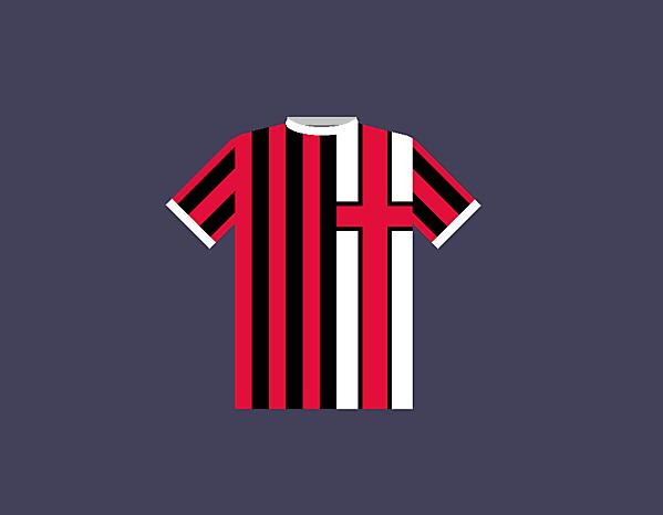 AC Milan home jersey concept