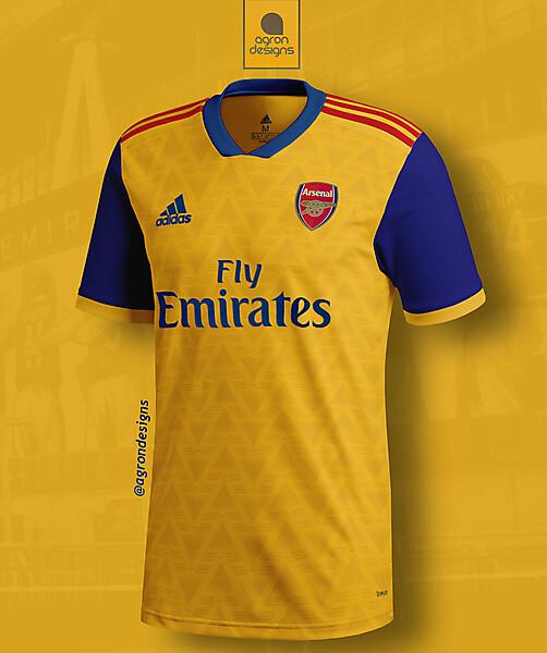 Adidas Arsenal Fc Away Kit Concept