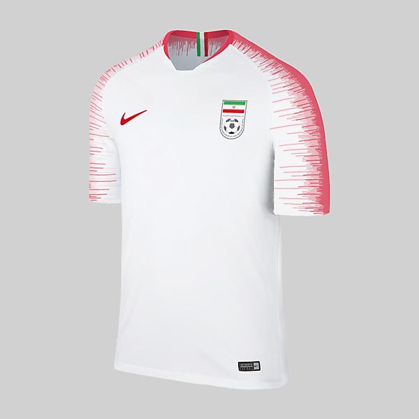 Adidas Exchange to Nike : Iran
