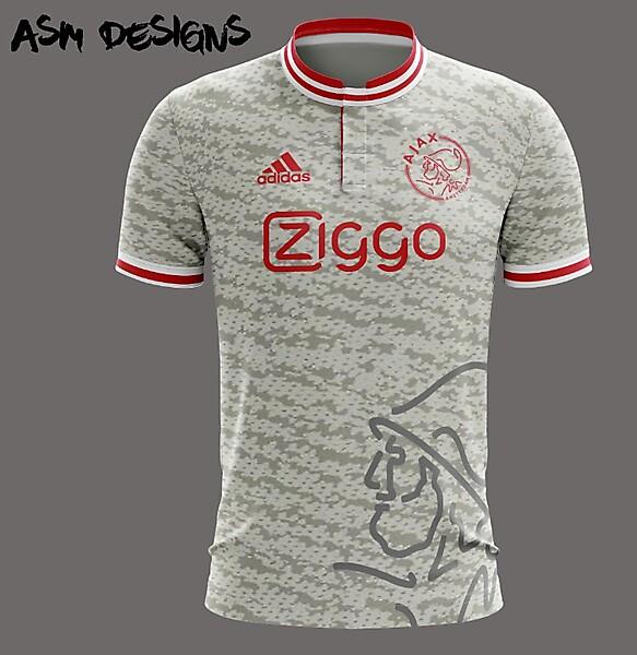 AFC Ajax Adidas Yeezy 2018 Home Kit