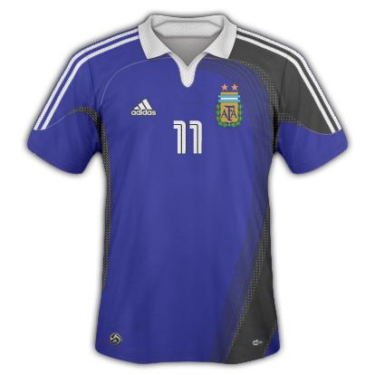Argentina 2010/11 Away Shirt