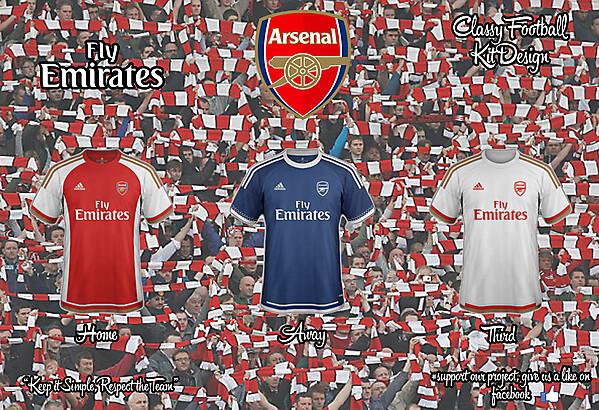 Arsenal Adidas Concept 2015/2016