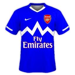 Arsenal Away 2012/13